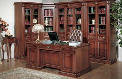 El arte de decorar oficinas estilo cl sico mamparas for Muebles para oficina estilo minimalista