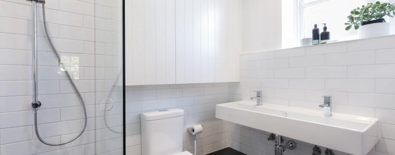 diseños de mamparas de baño